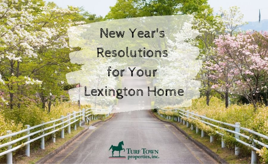 4 New Year's Resolutions for Your Lexington Home